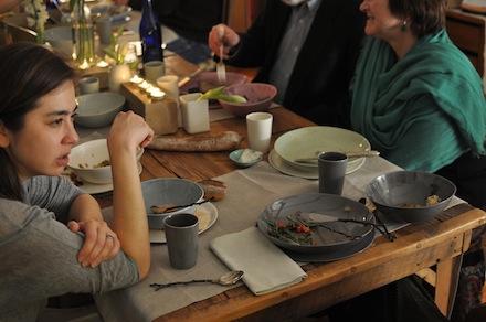 Davis Ceramics dinner party