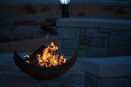 Hudson Sculptor John T  Unger Creates Great Bowls Of FireHudson