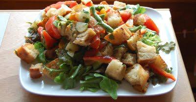 recipe panzanella 400