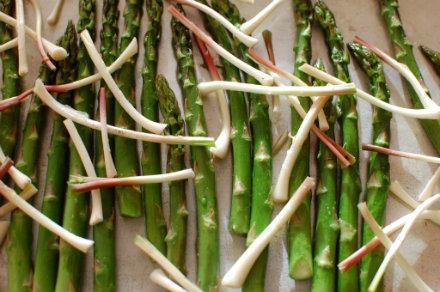 ramps asparagus