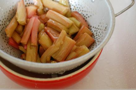 rhubarb colander